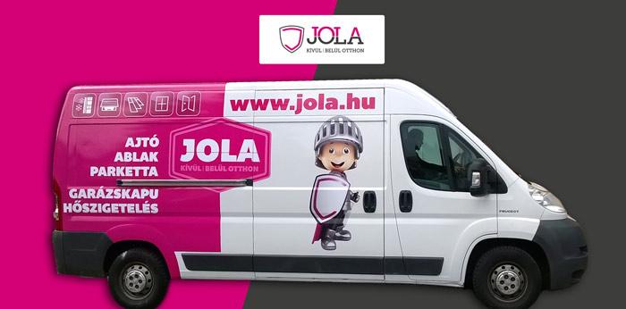 JOLA parketta szolgáltatása a házhozszállítás